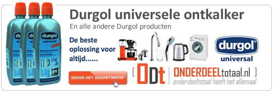 Durgol Universal Ontkalker en alle andere Durgo producten